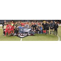 Ontario Fury and Lexington Legends Honor San Bernardino Victims