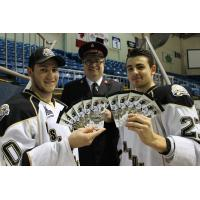 Charlottetown Islanders and Toys for Tots