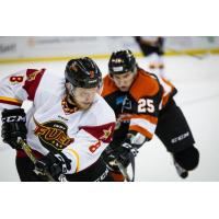 Left Wing Reed Seckel with the Indy Fuel