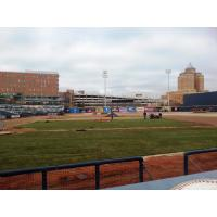 Turf Replacement at Canal Park, Home of the Akron RubberDucks