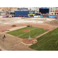 Canal Park, Home of the Akron RubberDucks, Turf Replacement