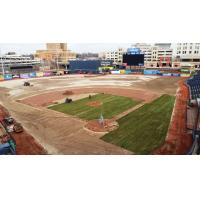 Turf Replacement in Progress at Canal Park, Home of the Akron RubberDucks