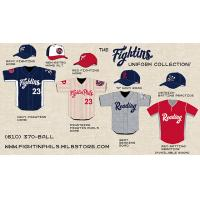 Reading Fightin Phils Uniform Collection