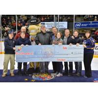 Barrie Colts Donate $500,000 to Adopt a School Program