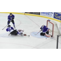 Omaha Lancers Taken down in Front of Tri-City Storm Net