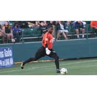 USL Goalkeeper of the Year Brandon Miller with the Rochester Rhinos