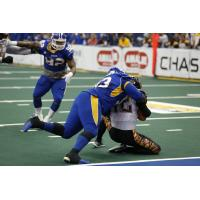 DL Richard Clebert with the Tampa Bay Storm