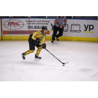 Mississippi RiverKings Defenseman Mike Grace