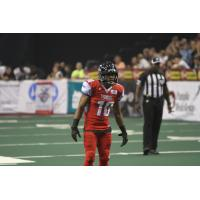 DB Varmah Sonie Surveys the Opposition while with the Portland Thunder