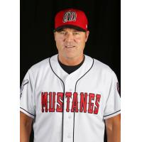Dayton Dragons Manager Dick Schofield with the Billings Mustangs