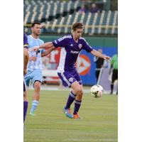 Aodhan Quinn Controls the Ball for Louisville City FC