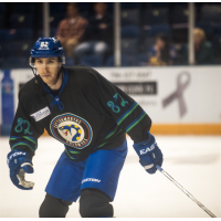 Forward Max Cook with the Columbus Cottonmouths