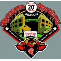 Rochester Red Wings 20th Season at Frontier Field Logo