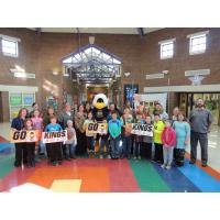 Pleasant Hill Elementary Welcomes the Mississippi RiverKings