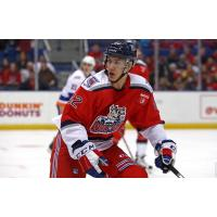 Josh Nicholls of the Hartford Wolf Pack