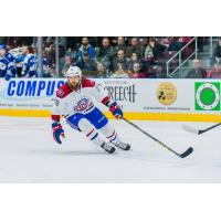 Right Wing Eric Neilson with the St. John's IceCaps