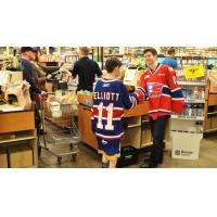 Spokane Chiefs Bag Groceries at Fred Meyer Store