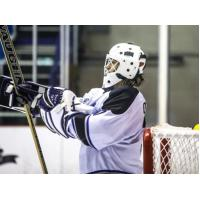 Lone Star Brahmas Goaltender Conor O'Brien Readies for Action