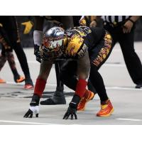 Defensive Lineman Dominie Pittman with the Los Angeles KISS