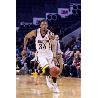London Lightning Guard Marcus Capers