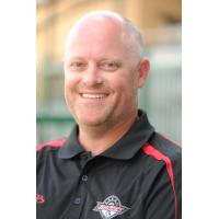 Akron Racers Assistant Field Manager Dustin Combs