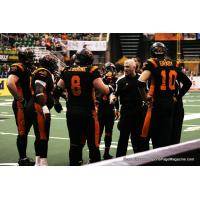 Ron James Coaching with the Utah Blaze