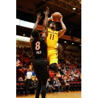 Canton Charge Guard Quinn Cook Goes up for a Shot