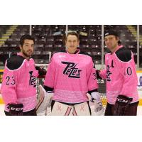 Peterborough Petes Pink in the Rink Jerseys