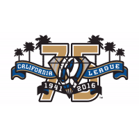 Rancho Cucamonga Quakes 75th Anniversary California League Logo