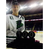 Jon DiSalvatore of the Florida Everblades Commemorates his 900th Game