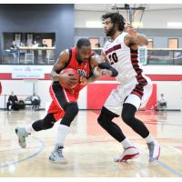 Windsor Express Drive to the Hoop against the Orangeville A's