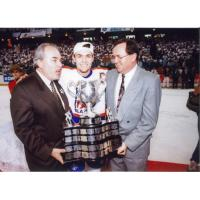 Darcy Tucker with the Kamloops Blazers