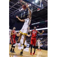 London Lightning Guard Marcus Capers vs. the Windsor Express