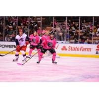 Manchester Monarchs vs. the Elmira Jackals on Pink in the Rink Night