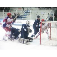 Aston Rebels Attack the Wilkes-Barre/Scranton Knights Goal