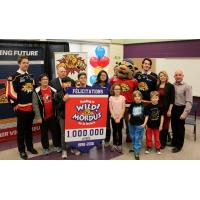 Moncton Wildcats Reading is Wild Program Celebrates 1,000,000 Books Read at �cole le Sommet