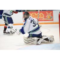 Taz Burman of the Swift Current Broncos