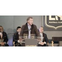 Part-Owner Will Ferrell at the LA Football Club Press Conference