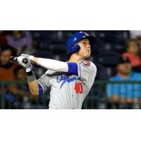 Max Kepler with the Chattanooga Lookouts