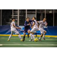 Tacoma Stars Defender Cory Keitz Battles for the Ball vs. the San Diego Sockers