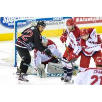 Allen Americans Try to Keep the Alaska Aces at Bay