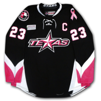 Texas Stars Pink in the Rink Jersey - Front