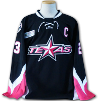 Texas Stars Pink in the Rink Jersey - Front Relaxed