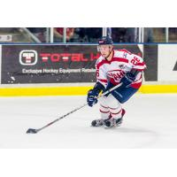 Amarillo Bulls Forward George Mika at NAHL Top Prospects Event