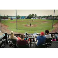 Battle Creek Bombers View from the Home Plate Club