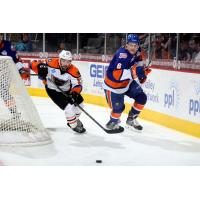 Lehigh Valley Phantoms Race the Bridgeport Sound Tigers to the Puck