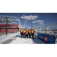 Construction at BMO Field