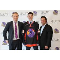 Forward Curtis Hall with Youngstown Phantoms Management