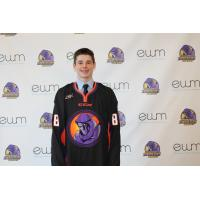 Forward Curtis Hall Dons a Youngstown Phantoms Jersey