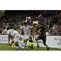 Dallas Sidekicks Battle the Milwaukee Wave
